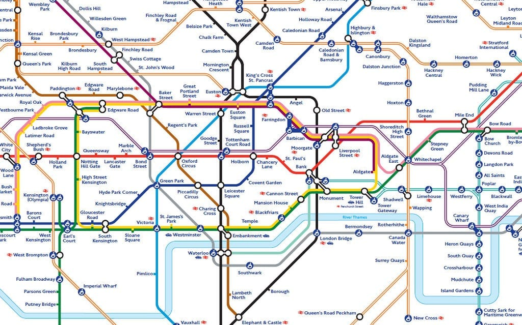 interesting facts about London Underground