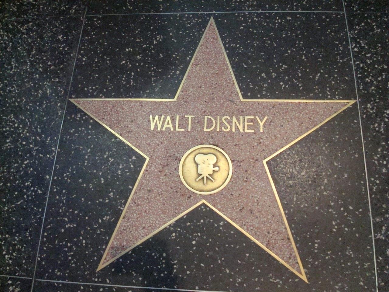 fun facts about Walt Disney