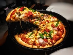 nutrition facts about pizza
