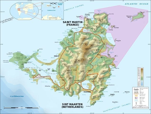 Facts about Saint Martin