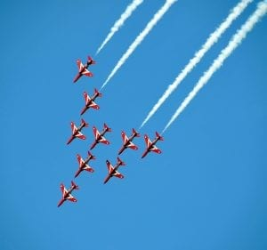 Red Arrows Facts